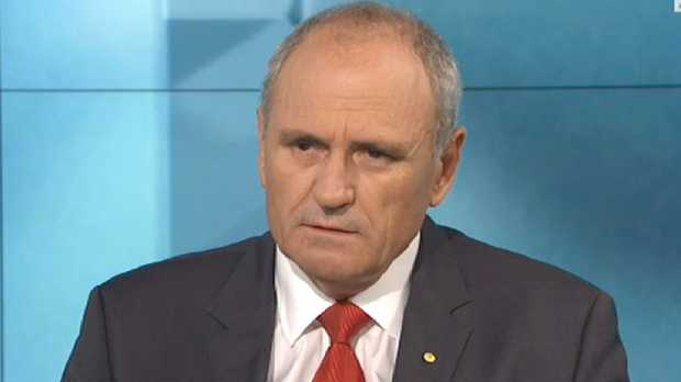 Outgoing NAB chairman Dr Ken Henry has admitted resigning is the best move for the bank going forward.