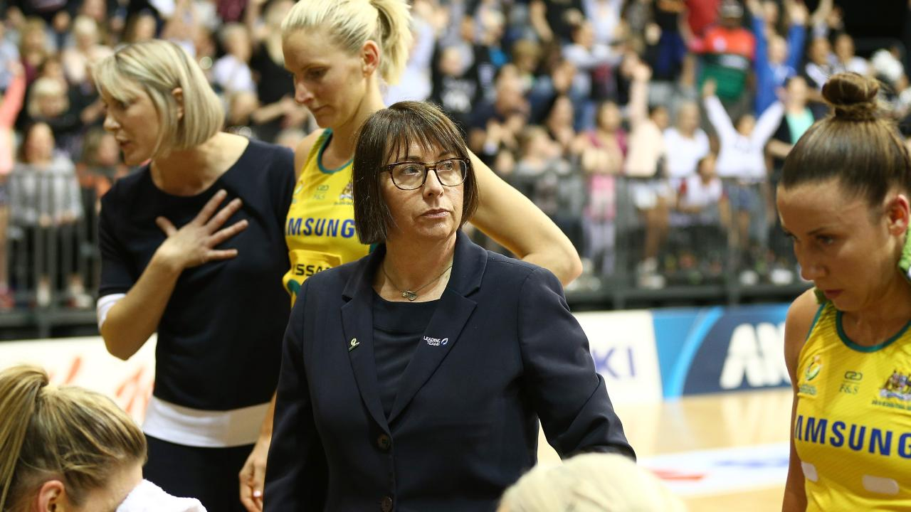 Diamonds coach Lisa Alexander says her job is more interesting with the increasing depth of international netball. Picture: David Rowland/AAP
