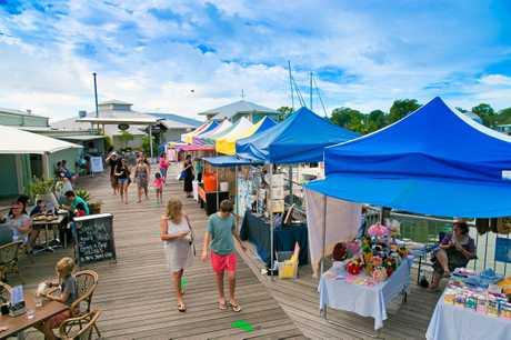 Noosa Marina Sunday Markets. Photo contributed