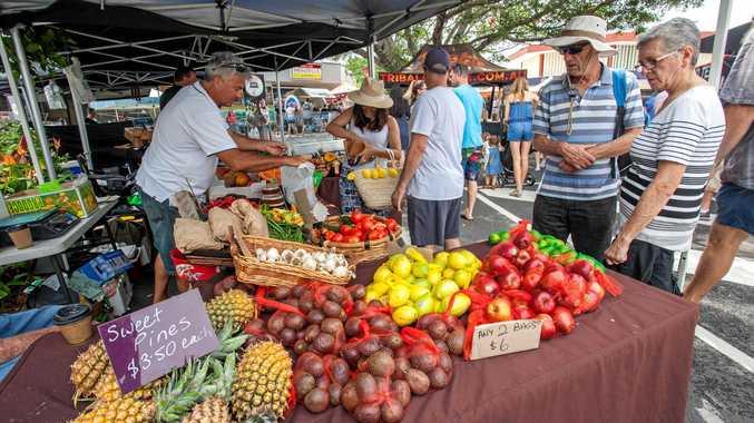 FRESH IS BEST: The Caloundra Street Fair has fresh produce available at its Sunday event.