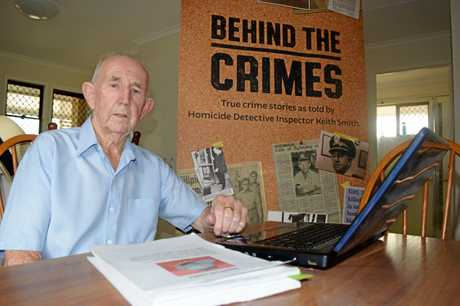 STORIES TO TELL: Retired Detective Inspector Keith Smith worked on major crimes and horrific murders during his time in the Brisbane-based Homicide Squad.