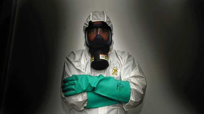 What it's like cleaning Mackay's meth labs, crime scenes