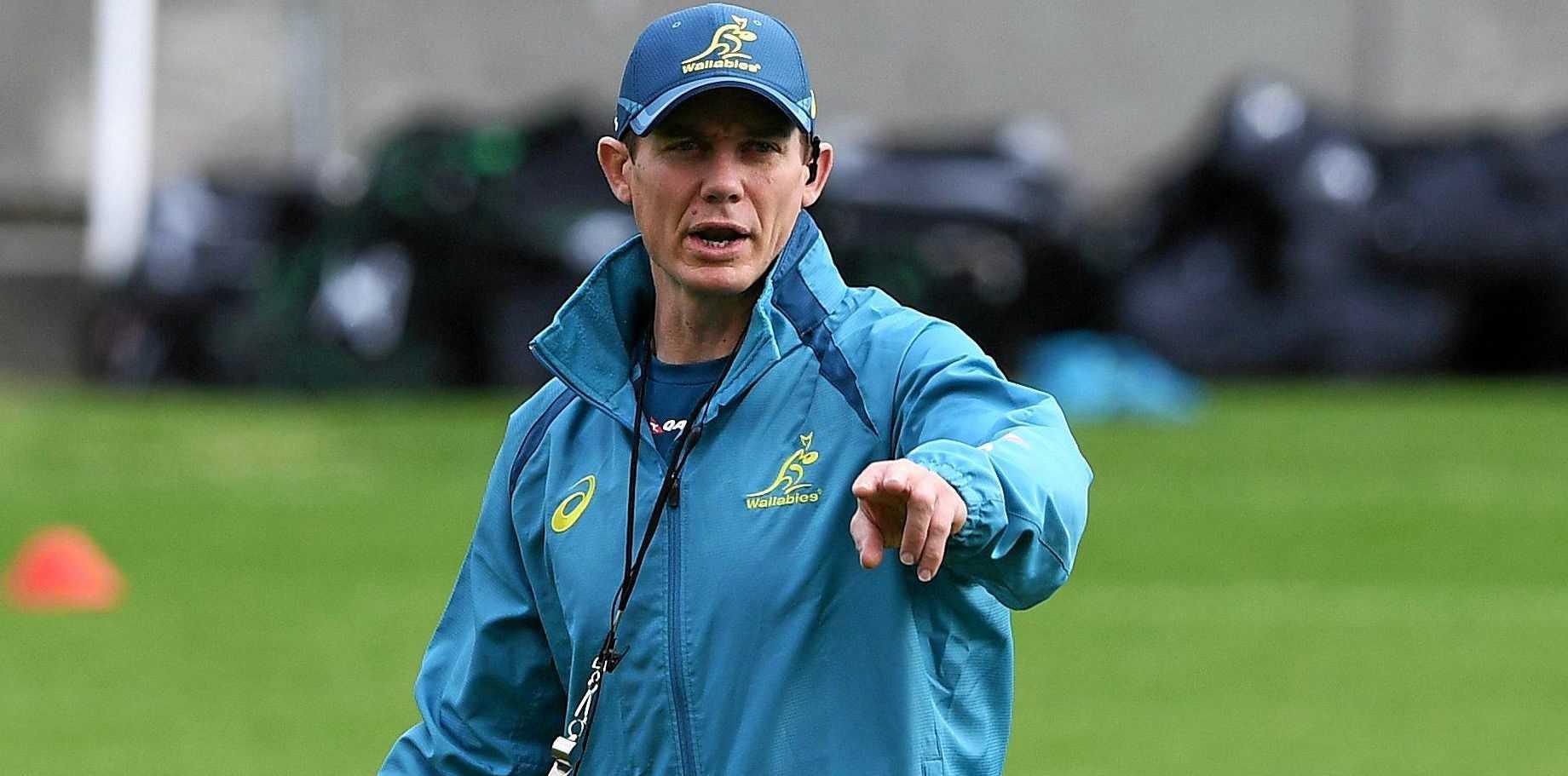 Former Wallabies attack coach Stephen Larkham