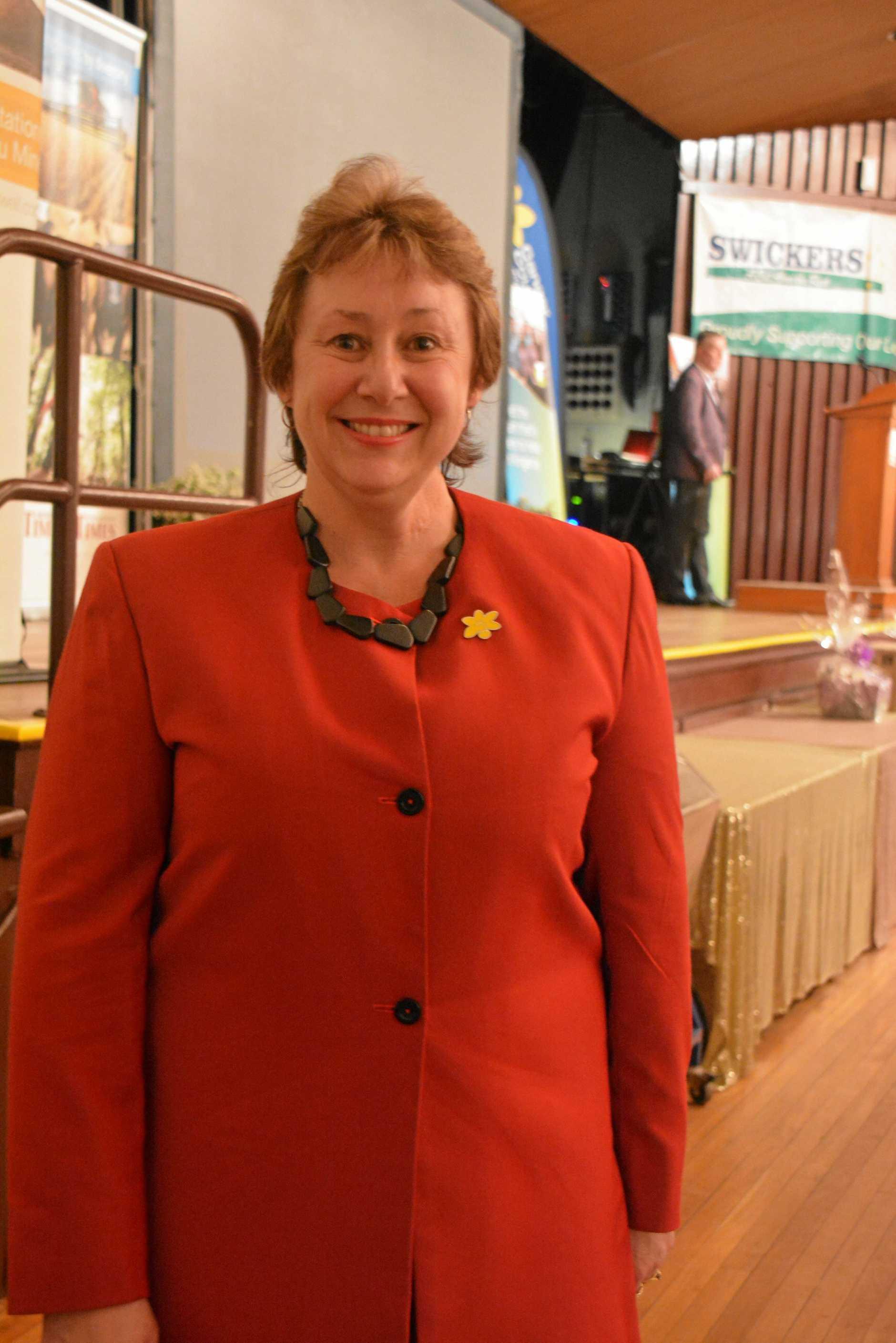 South Burnett Relay for Life chairwoman Rowena Dionysius.