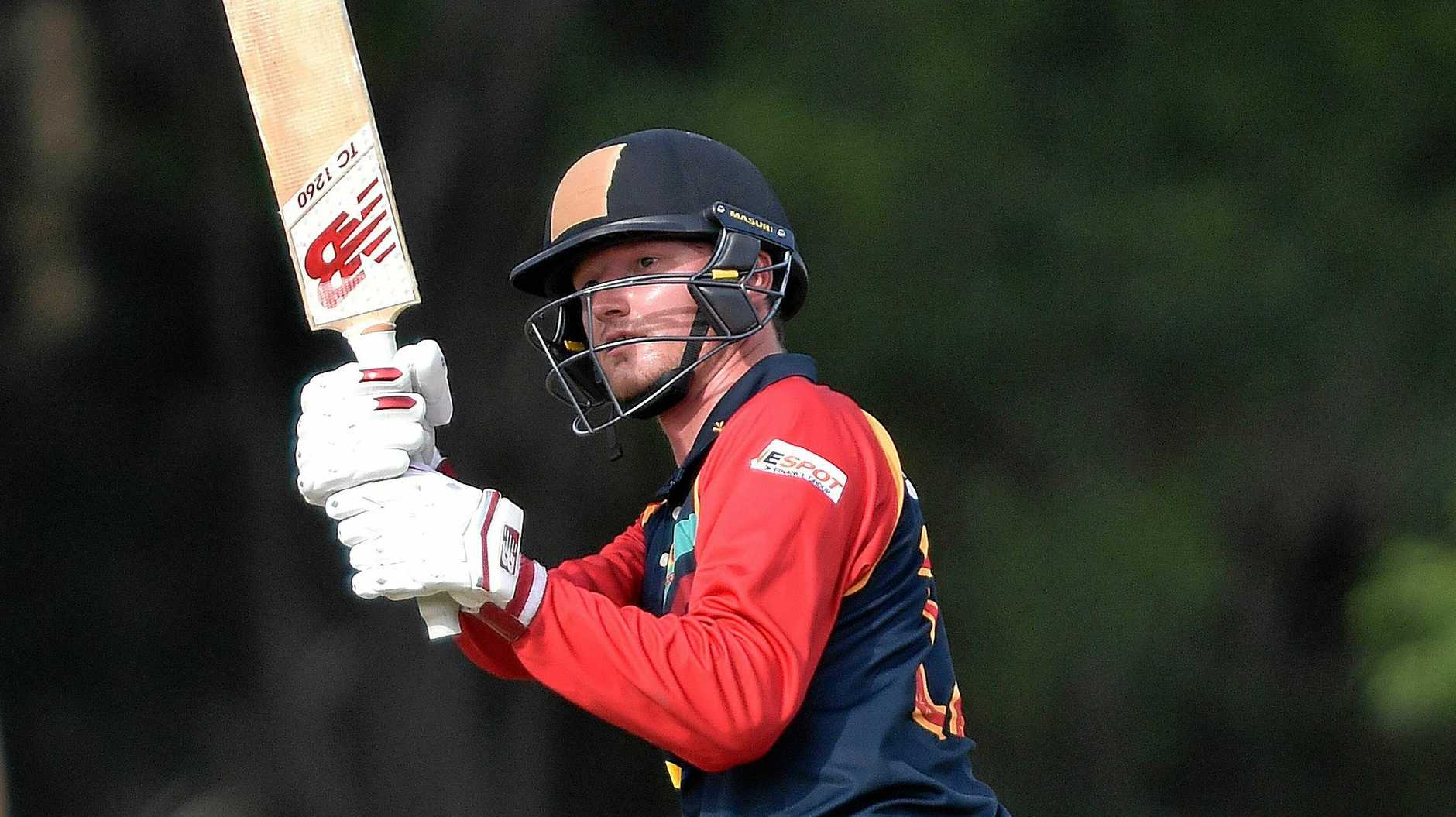 FIRED UP: Scorchers' Aneurin Donald.