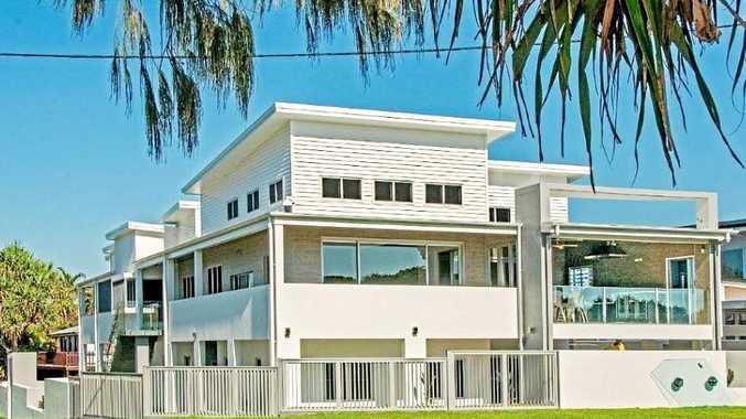 SEASIDE LUXURY: 99 Esplanade Bargara is on the market for $2.5 million