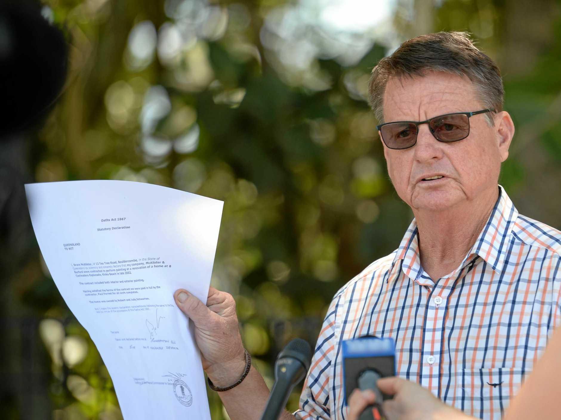 STAT DEC: Former Rockhampton MP Robert Schwarten.