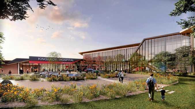 PROGRESS: The Kingaroy Hospital redevelopment is one step closer.
