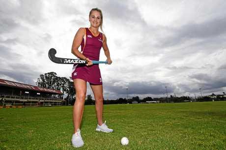 Gympie hockey - Queensland uner-21 Annie Collins