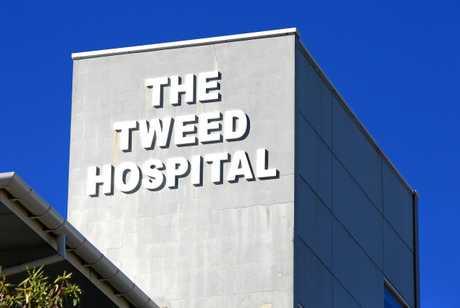 The Tweed Heads Hospital.