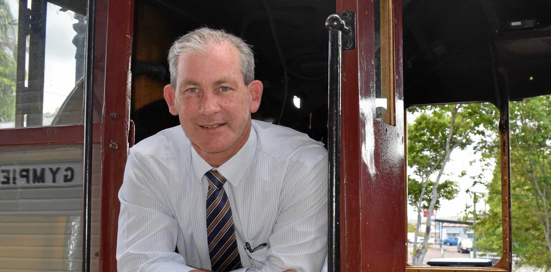 Mayor Mick Curran