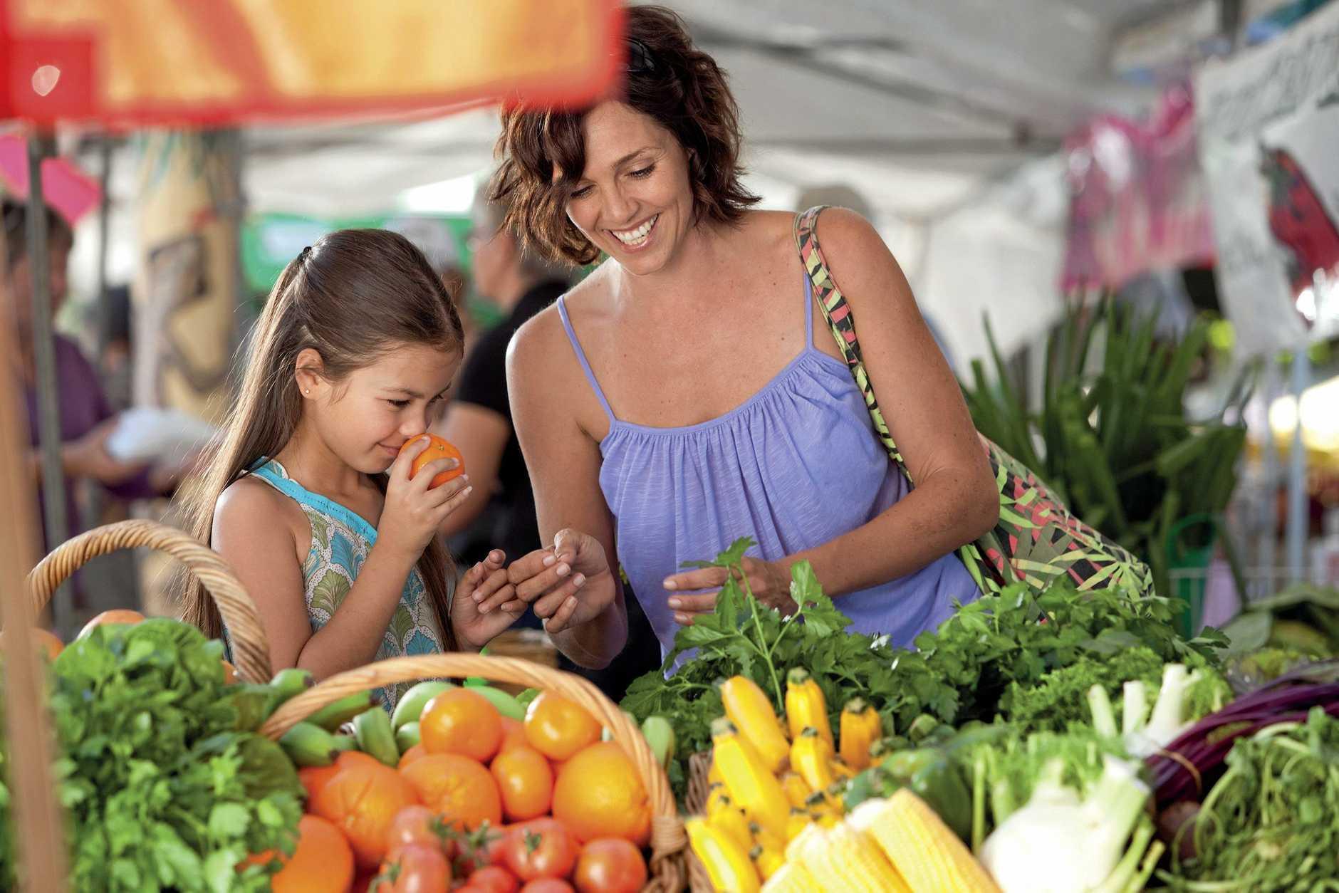 Generic markets photo
