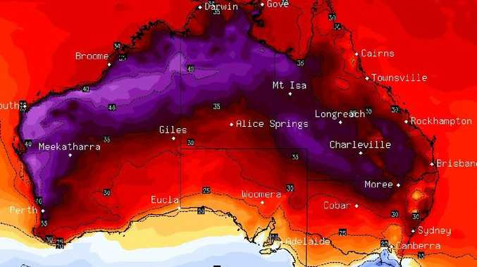 The weekend will see hot temperatures linger in Western Australia but the south east will be far cooler. Picture: BSCH.