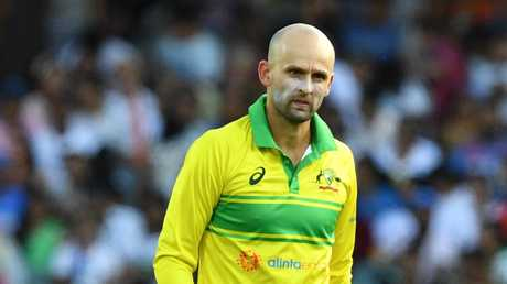 Nathan Lyon struggled in the ODI series against India. Picture: AAP