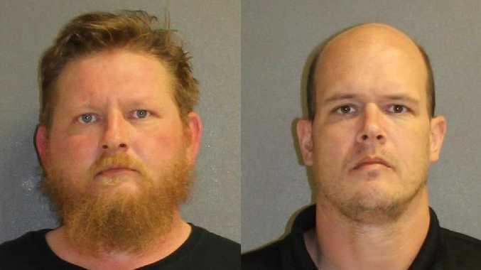 Lafe Best (left) and Benjamin Worster are both being held in jail. Source: Facebook