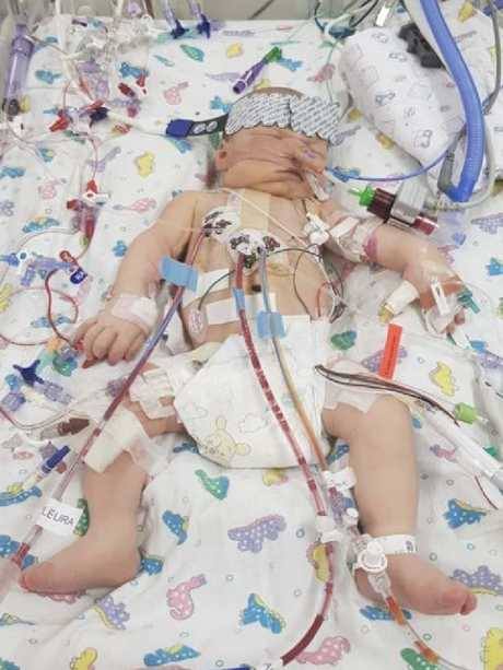 Joshua in intensive care