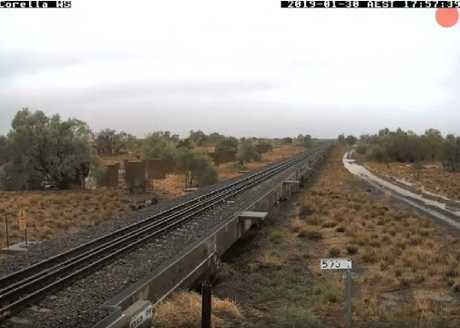 Corella railway before the storms rolled in. Picture: Reddit
