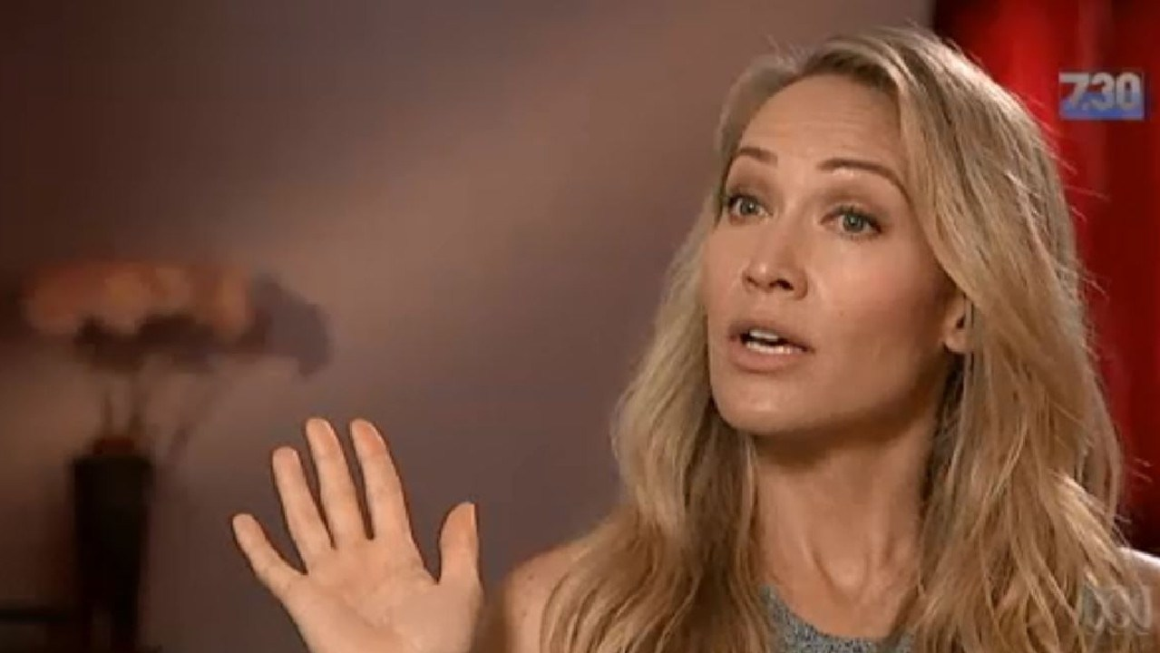 Erika Heynatz is another actress denouncing Craig McLachlan's indecent behaviour. Picture: 7:30/ABC