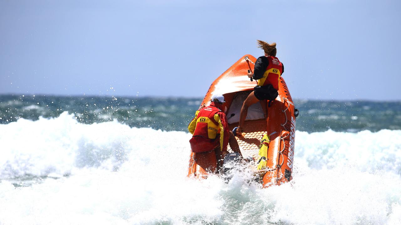 Surf rescue championships. Pic by David Clark.