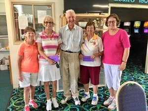 Bowls Vice Presidents host great day out