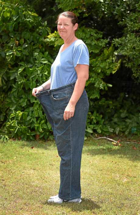 Weight lost - Karen Staines lost over 60kg with the help of playing squash.