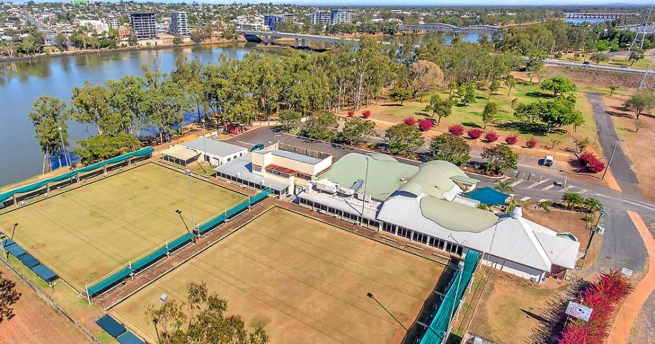 The North Rockhampton Bowls Club was passed in at auction on Saturday and is now on the market for $1.2 million.