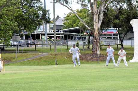 Gympie Gold v Nambour - wicket keeper Steven Brady.