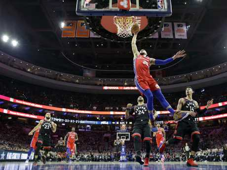 Ben Simmons continues to star in the NBA. Picture: AP