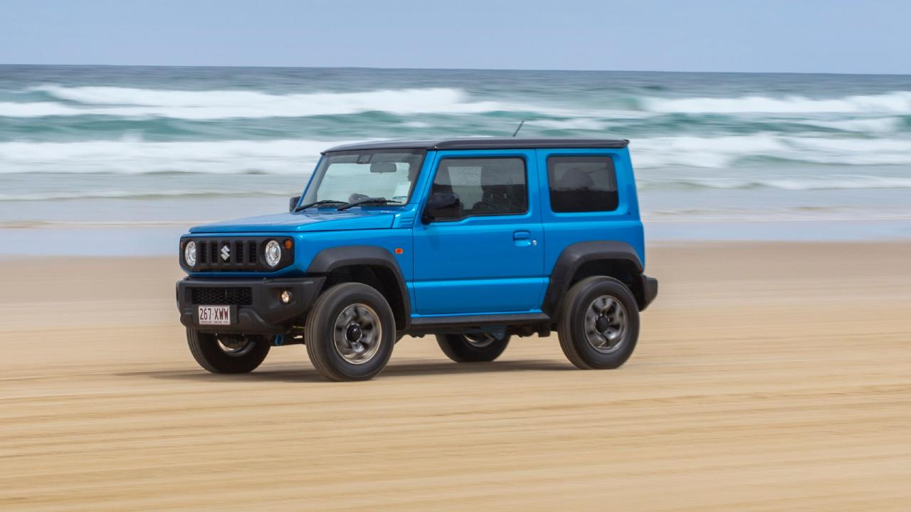 The new Jimny's styling has some serious retro charm.