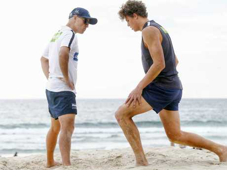 Charlie Curnow was a different man in 2015.
