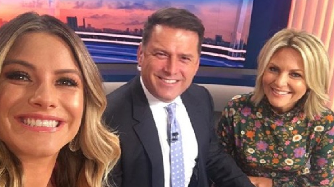 Today weather presenter Natalia Cooper (left) won't be returning to the breakfast show.