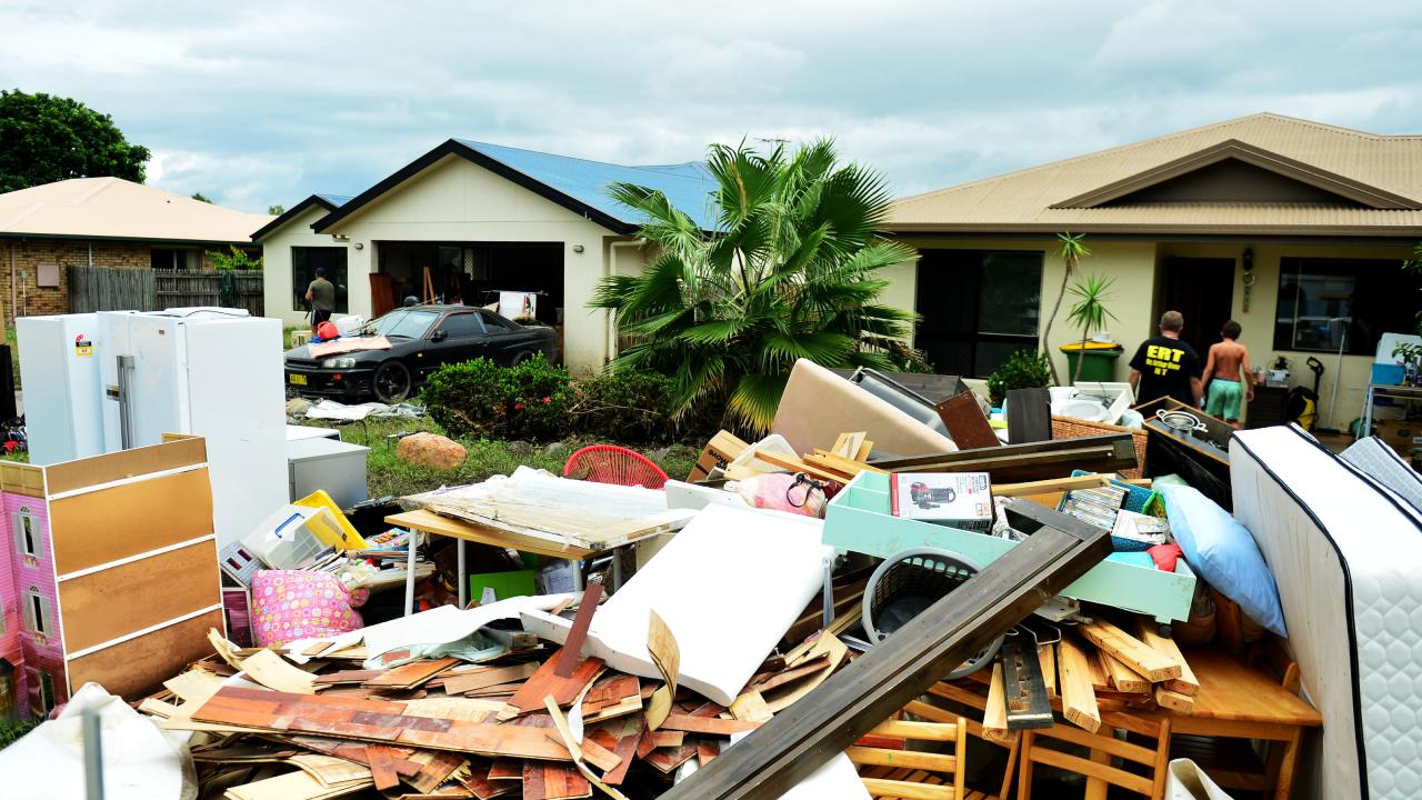 Strike Team Sector Alpha: help Kokoda St, Idalia with clean ups after the Townsville flood.