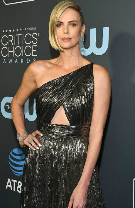 Charlize Theron at Claire Foy Accepts The #SeeHer Award At The 24th Annual Critics' Choice Awards. Picture: Getty