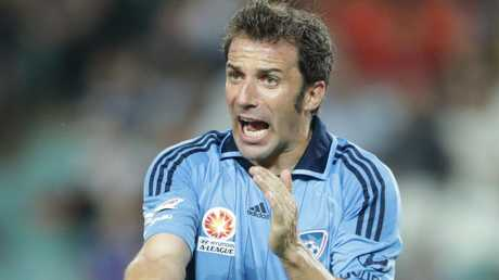 Allesandro Del Piero brought huge media exposure to the A-League.