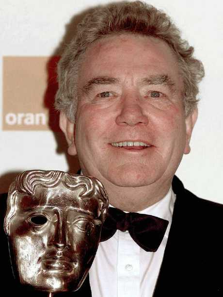 Albert Finney with his Academy fellowship award. Picture: AFP