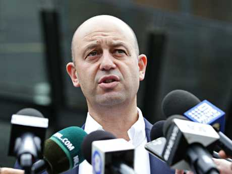NRL boss Todd Greenberg has been lauded for taking a