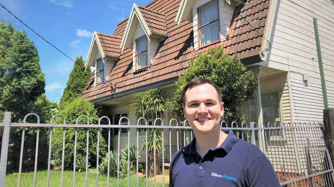 Eddie Dilleen has bought his first home after 14 investment properties.