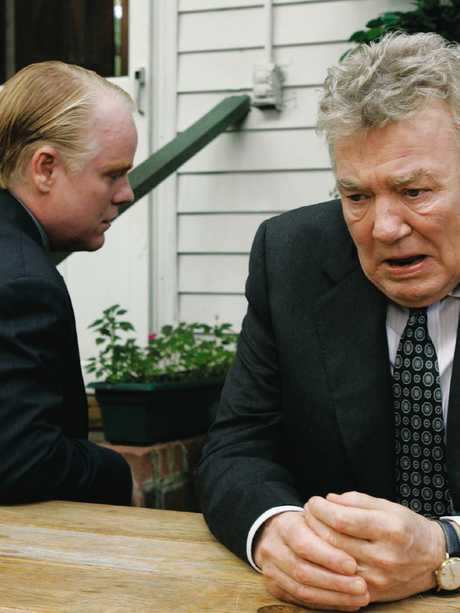 Philip Seymour Hoffman, left, and Albert Finney in Before The Devil Knows You're Dead. Picture: Supplied