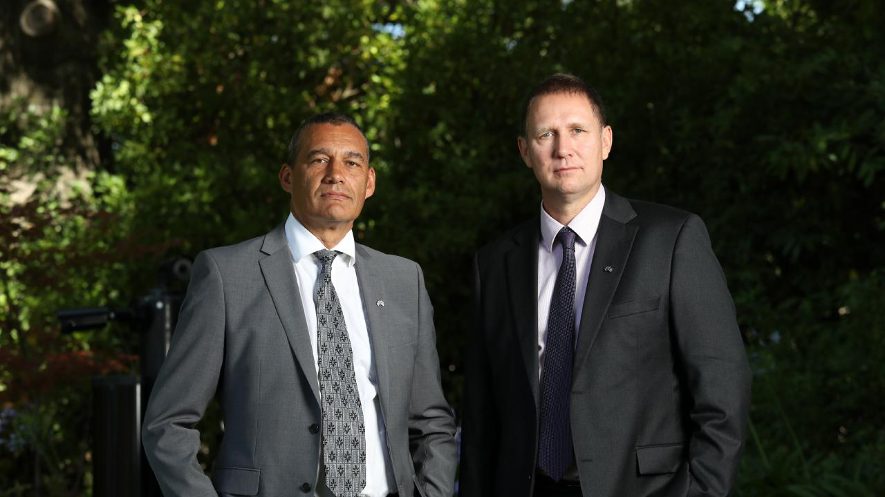 Australians of the Year Adelaide anaesthetist Dr Richard Harris and Perth vet Dr Craig Challen are fighting for Hakeem al-Araibi's freedom. Picture: Gary Ramage