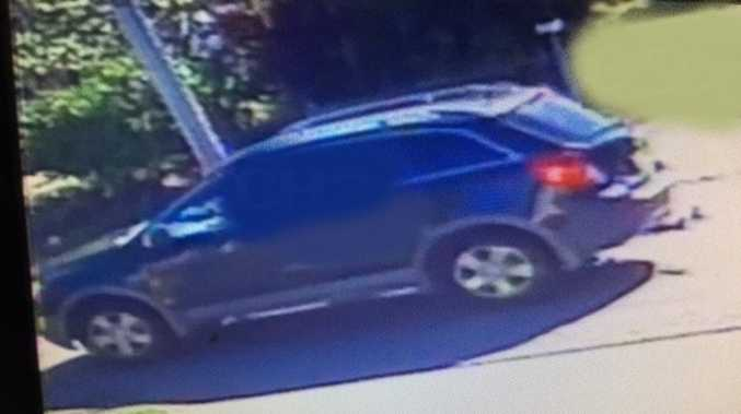 Police believe the man ran to what detectives believe was a black Holden Captiva that was on Park Lane before fleeing the scene.