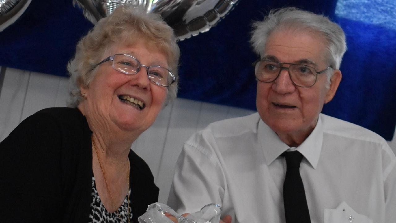 Kath and Allan Male have celebrated their 60th wedding anniversary. Picture: Coralie Just