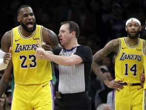 Cocky LeBron's shameless NBA brag