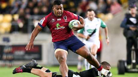 Taniela Tupou refuses to put any expectations on the Reds' scrum.