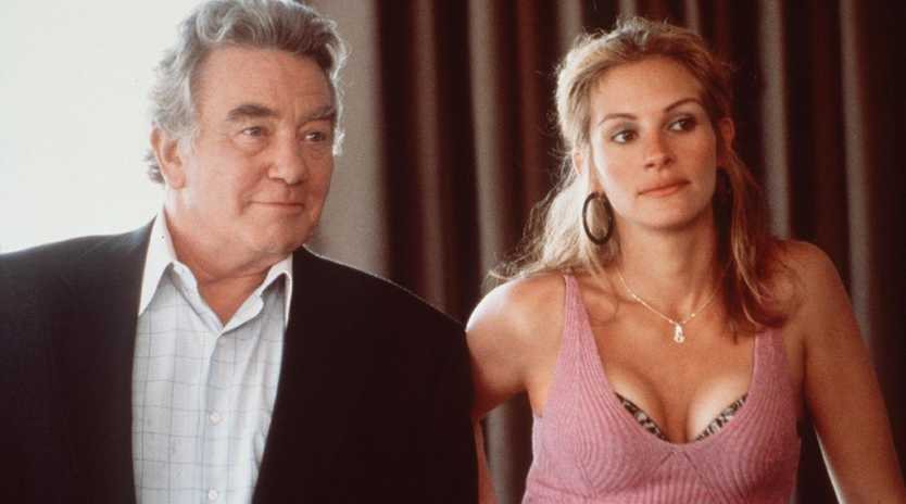 Julia Roberts with Albert Finney in scene from film Erin Brockovich. Picture: Supplied