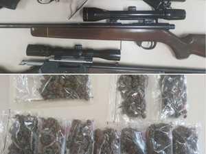 Huge police bust sees hundreds arrested, guns, drugs seized