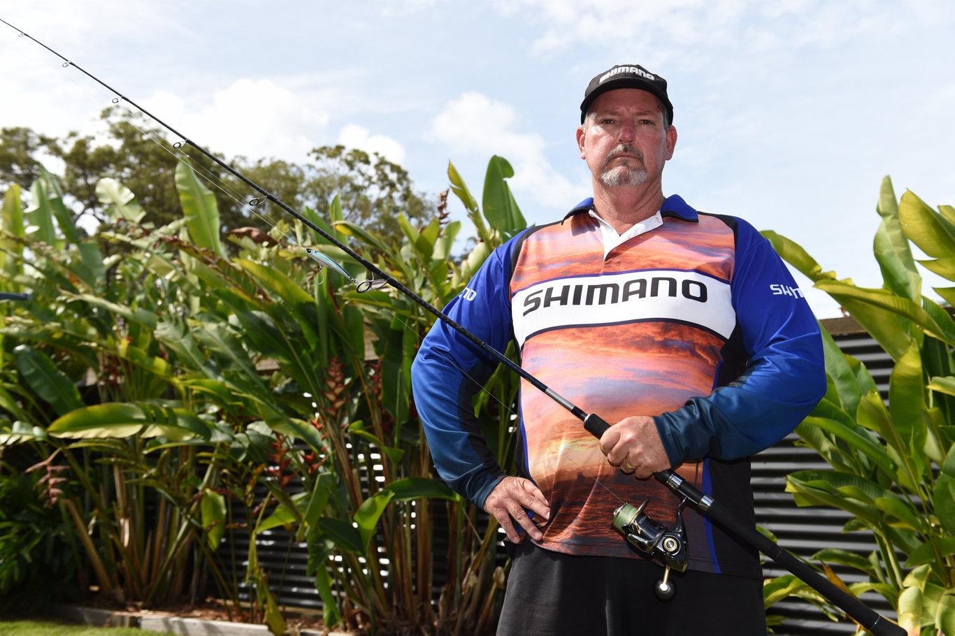 Hervey Bay recreational fisherman Scott Mitchell (Chair of the Fraser Coast Fishing Alliance).