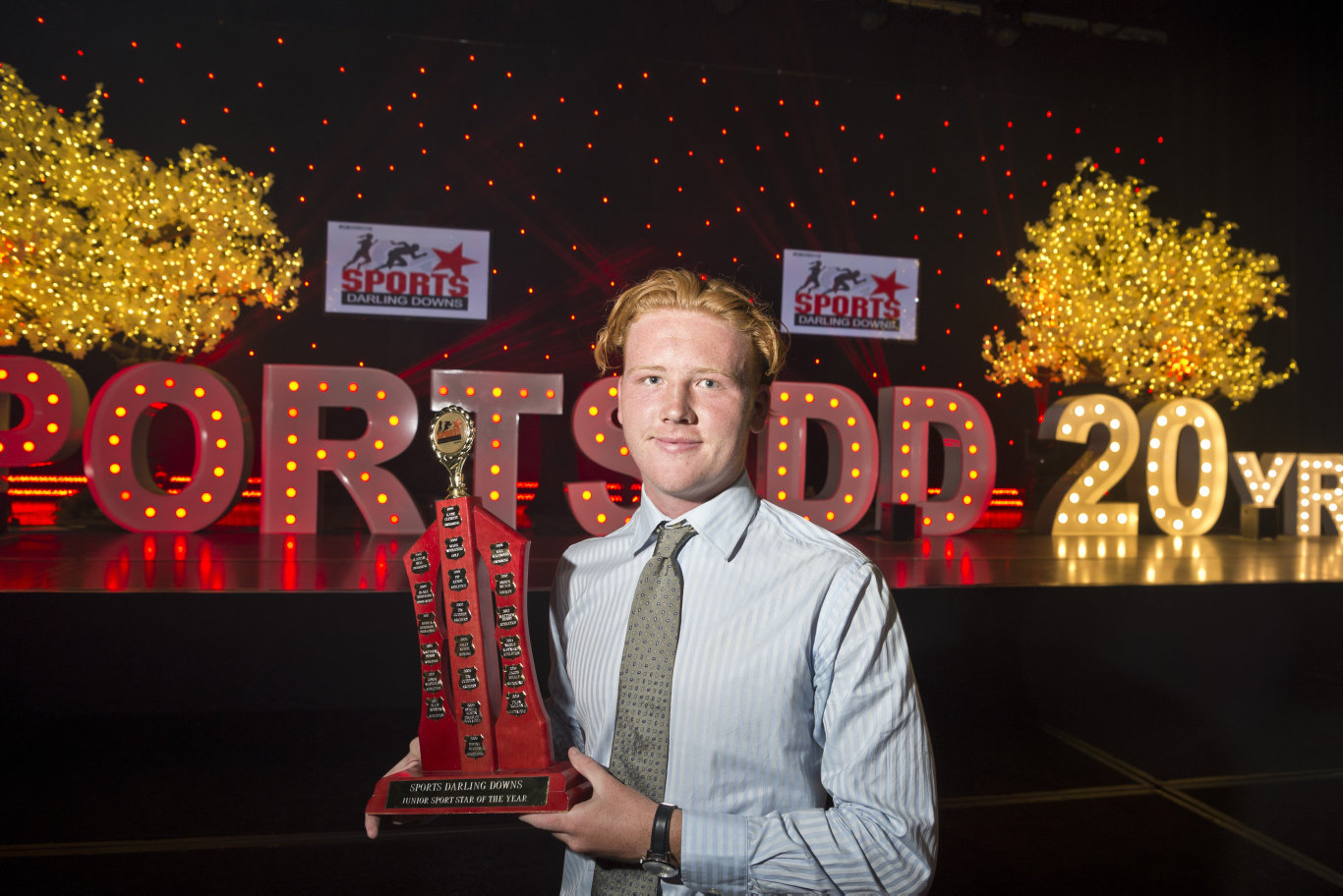 Sports Darling Downs Junior Sports Star of the Year Evan McLean.