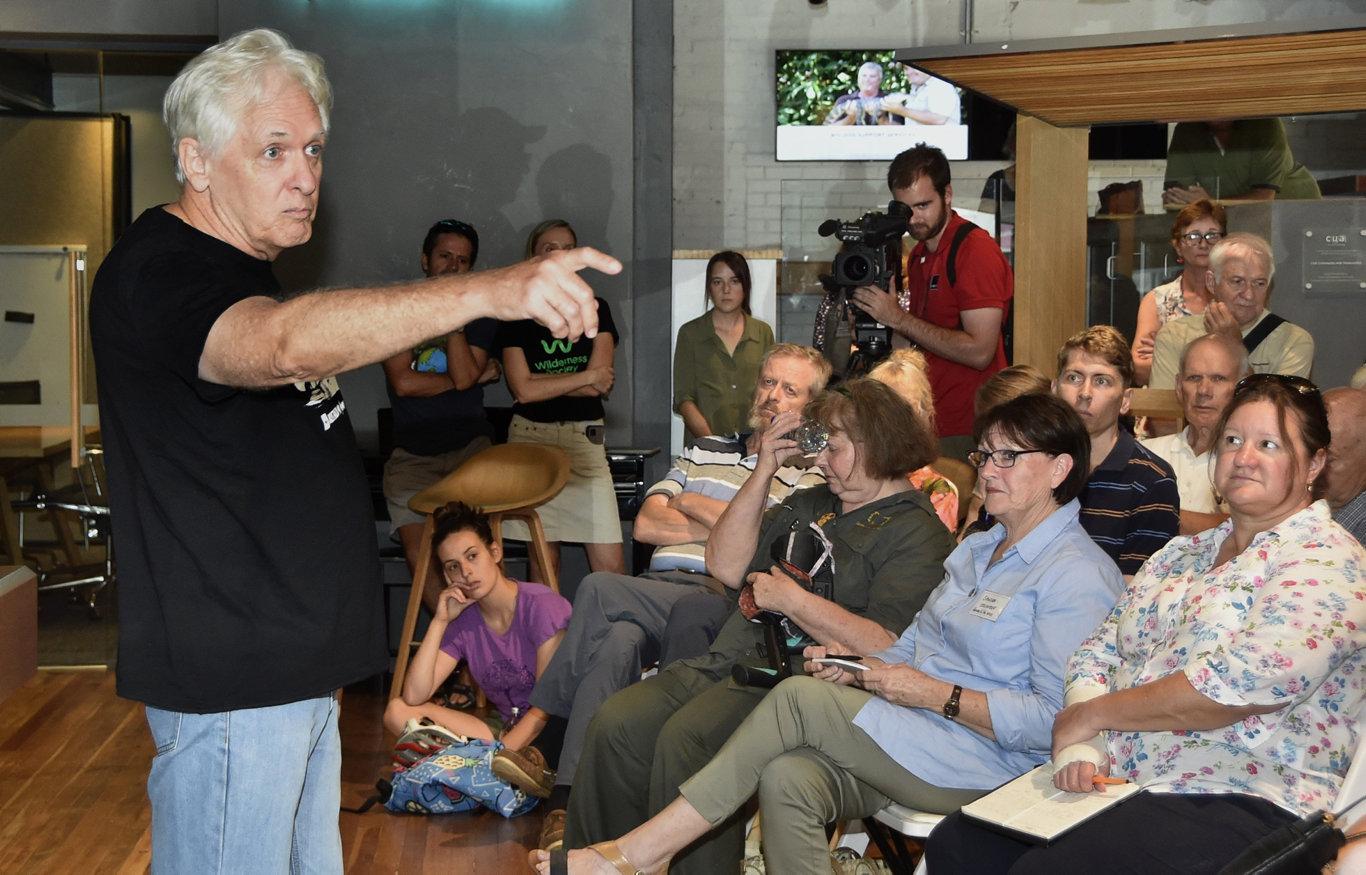 Martin Taylor, WWF. Save the Koalas meeting . February 2019