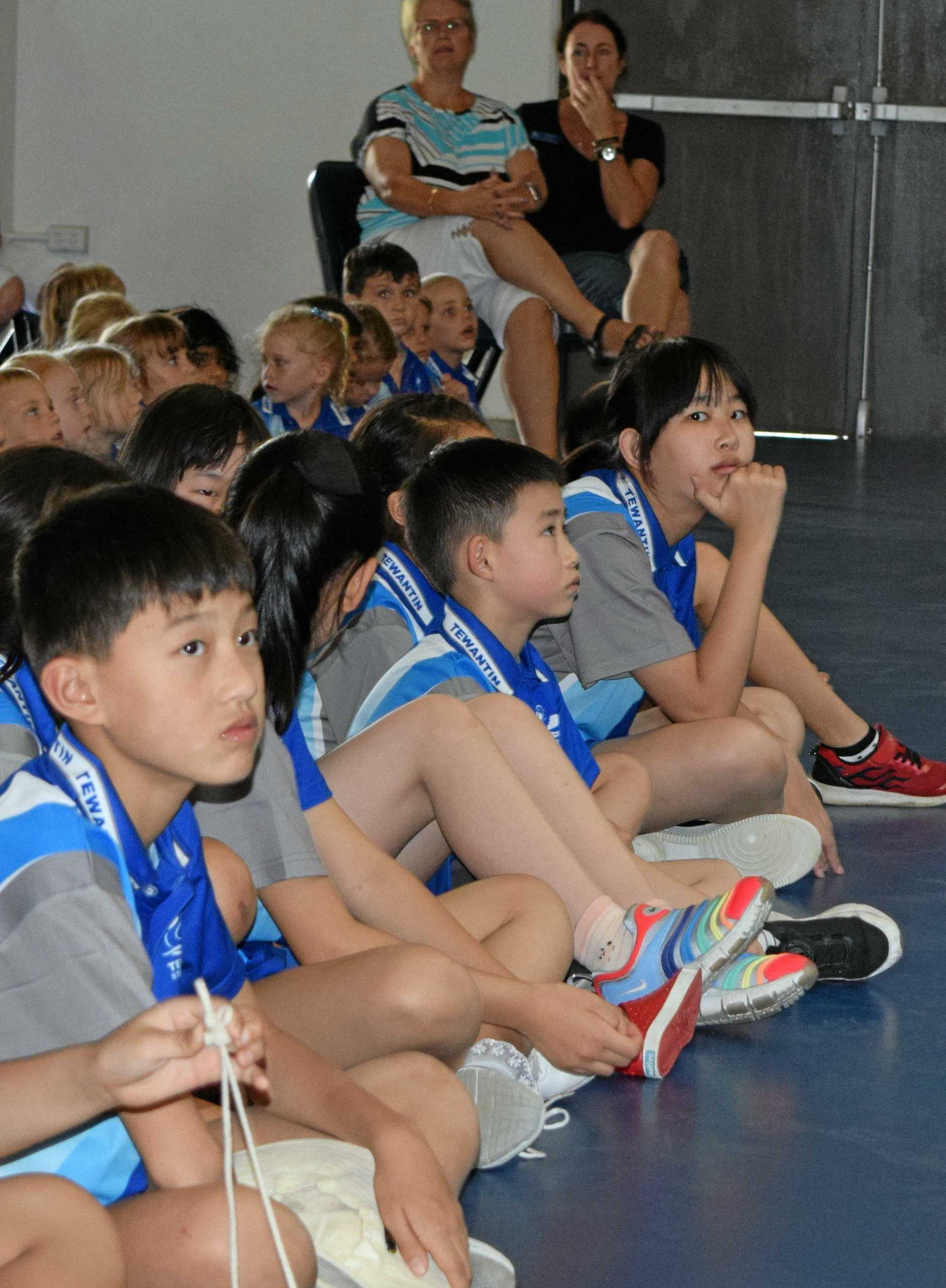 WELCOME: Chinese culture has arrived at Tewantin State School