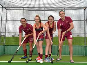 Six hockey stars selected for the under 18 Queensland team